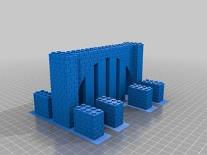 MOPB - street tunnel (LEGO compatible)