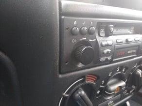 opel / vauxhall Radio Knob