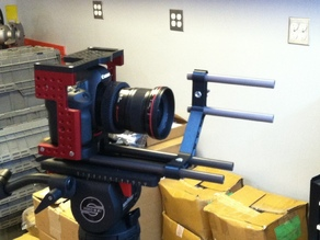 85mm offset rails for studio film/video