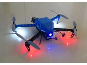 """""""SkyFlea"""" 3D-Printed Quad-V Drone"""