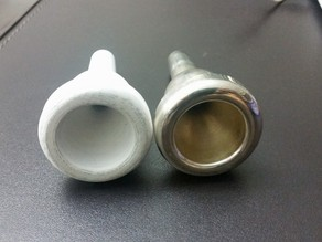 Stork Custom BT #5 Trombone Mouthpiece