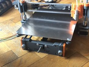 Prusa I3 XL Printing Bed