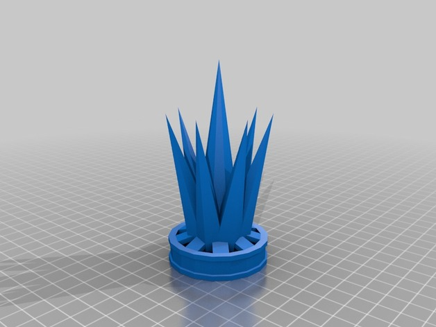 The Ice Crown by Defaultio - Thingiverse