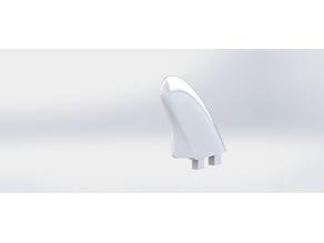 Surf fin FCS plug