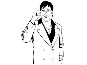 GTA Sonny Forelli Stencil