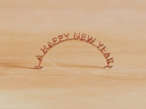 A HAPPY NEW YEAR ANIMATION ALL FRAMES