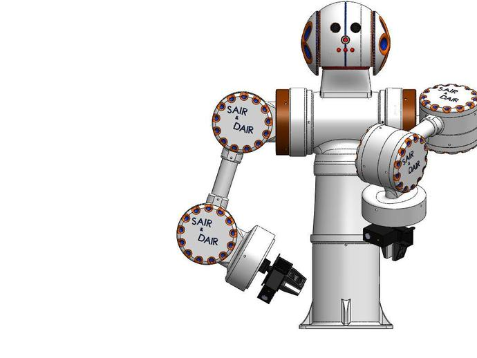 D A I R  Kit     a Home Hobby Dual Arm Industrial Robot     by