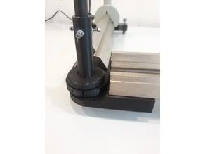 Angular adaptor for optical benches / Winkeladapter für optische Bänke