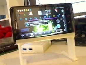 Motorola Droid Bionic Docking Station // Tripod
