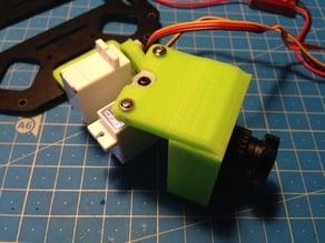Minimalistc FPV Board Cam Servo Gimbal for SK450
