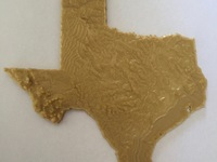 D Topographic Maps Of US States By Nlorang Thingiverse - Topographic map of us states