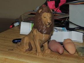 Dual Extrusion Lion