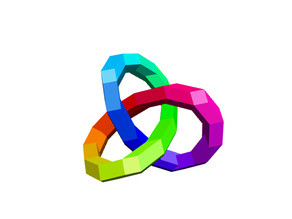 Trefoil Knot (customizable)