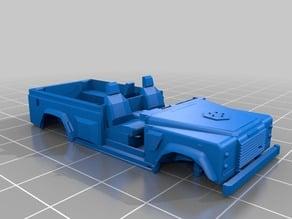 Land Rover Wolf 110 WMIK (British Army) - experimental