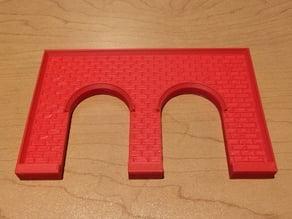 N Scale Twin tunnel Facing