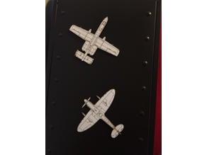 Laser Plane Blueprints