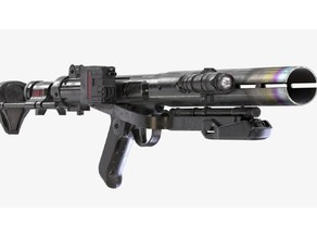 Star Wars Rogue One Nerf Imperial Death Trooper Deluxe Blaster E-11D Conversion