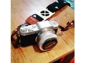 Camera Lenscap holder 41/37mm and Broad strap