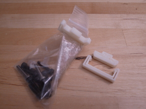 Bag clip - parametric