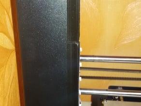 LED strip holder for Wanhao Duplicator i3
