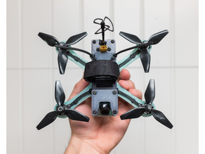 "LoPro 164 Mini Quad for up to 3.75"" props"
