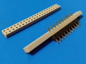 Parametric Spacer For Male Pin Headers