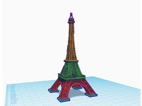 Easyest Eiffel Tower 5 part