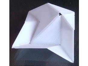 pajarita origami bird