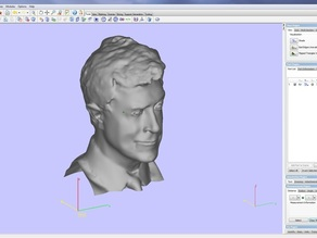 Large Stephen Colbert Head-Bre Pettis Interview-3D Printing-Support Kickstarter Project to Launch Soon!