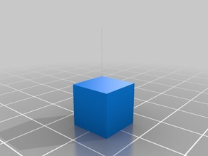 10MM Test CUBE WITH SKIRT/CALIBRATION TEST