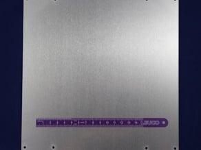 Laser Cut Build Platform for Prusa-Mendel