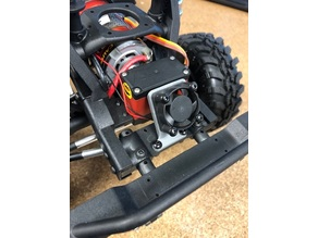 Redcat Gen 8 Servo Fan Mount 25mm