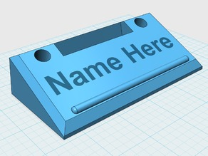 Name Plate, Cell phone and pen holder