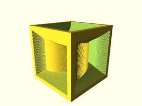 Swirly Cube Ting