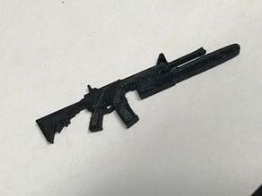 AR-15 chainsaw bayonet