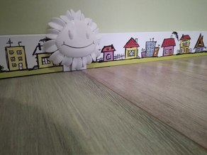 Sunflower plinth spacer