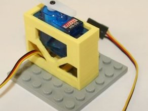 HiTEC HS-55 Micro Servo Brick Top Mount