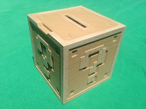 Mario Question Block Coin Bank