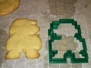 SUPER MARIO BROS. Cookie Cutter with 3D Stamp