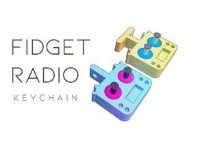 Fidget Radio Keychains V3.1