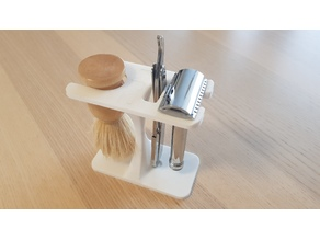 Stand : Brush | Safety razor | Shavette