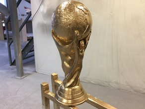 FIFA World Cup Trophy (Solid Verison)