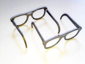Glasses for dolls