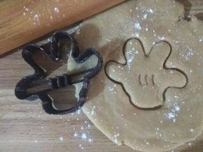Mickey Glove Cookie Cutter