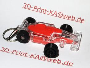 F1-CAR-WHEEL for Keychain