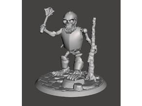 Armoured Skeleton Troll Champion - 28mm Undead