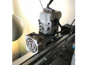 Clip-on fan filter for Noctua A4-20