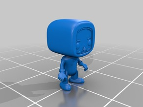 Boeing Astronaut Pop style collectible