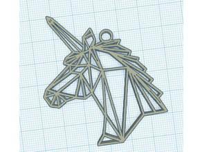 Geometric Unicorn - Licorne Géométrique