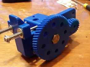 Cyborg Geared Bowden Extruder M8 bolt